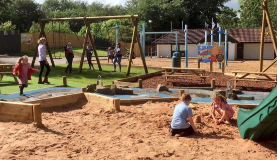 Sand Pit Play