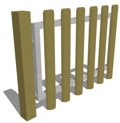 FS005 - Timber Gate (1.2m Opening)