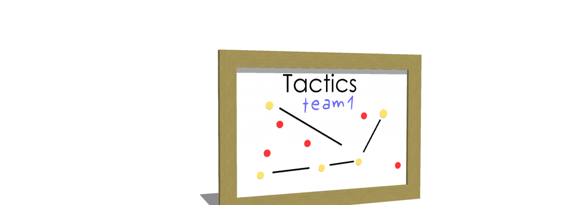Tactics Magnetic Whiteboard