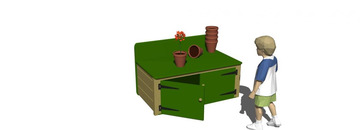 SP034 - Potting Table (Model)