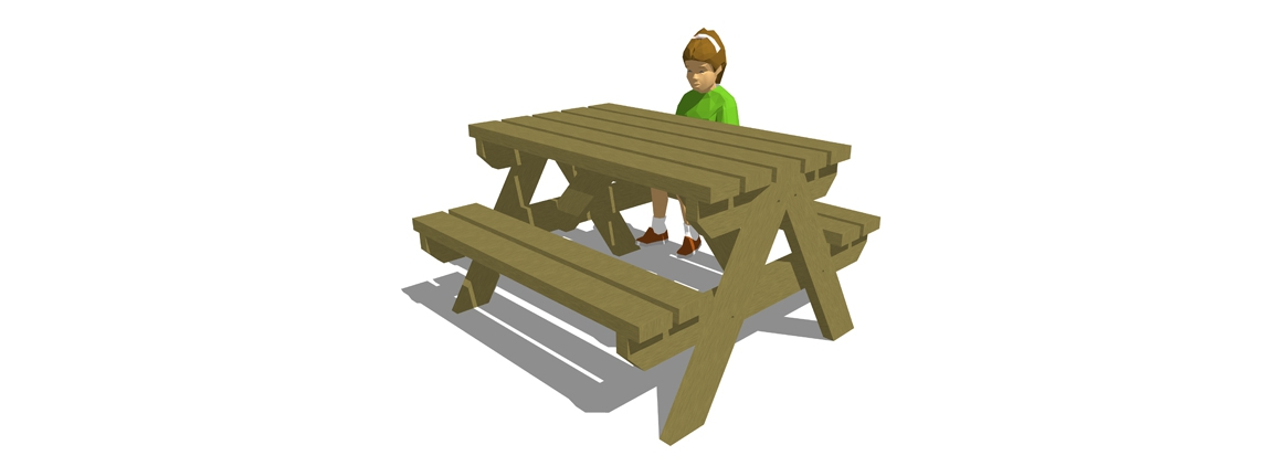 SP002 - Junior Picnic Bench