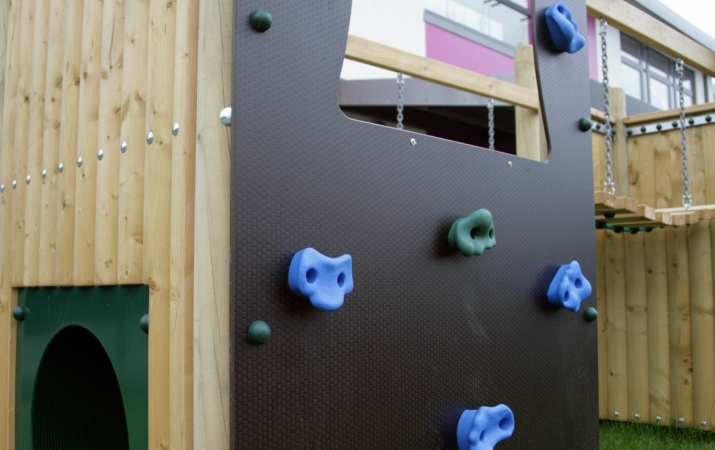 Climbing wall 1m  -  Chellow Heights