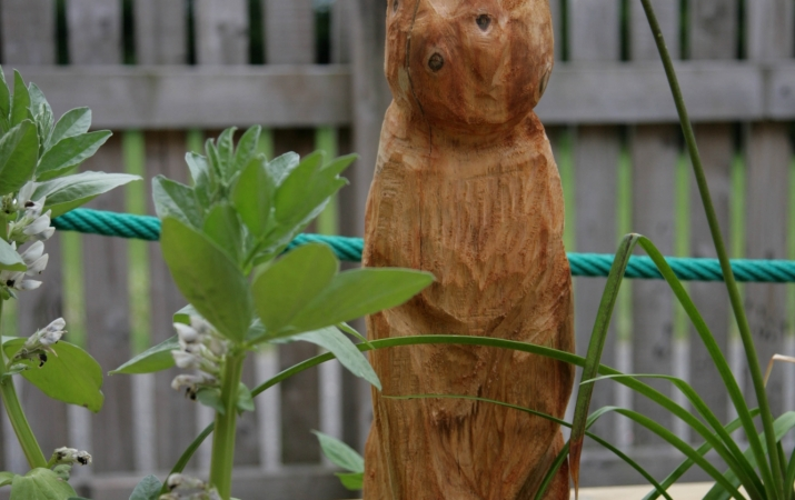 Woodland Carving Rabbit  -  Clayton