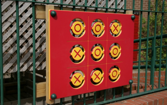 Naughts and Crosses Panel - Barmby Moor